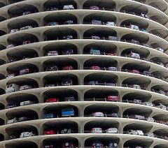 Автоматизация многоуровневых парковок