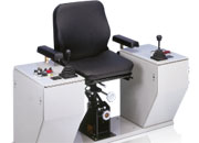 Controllers and chair consoles